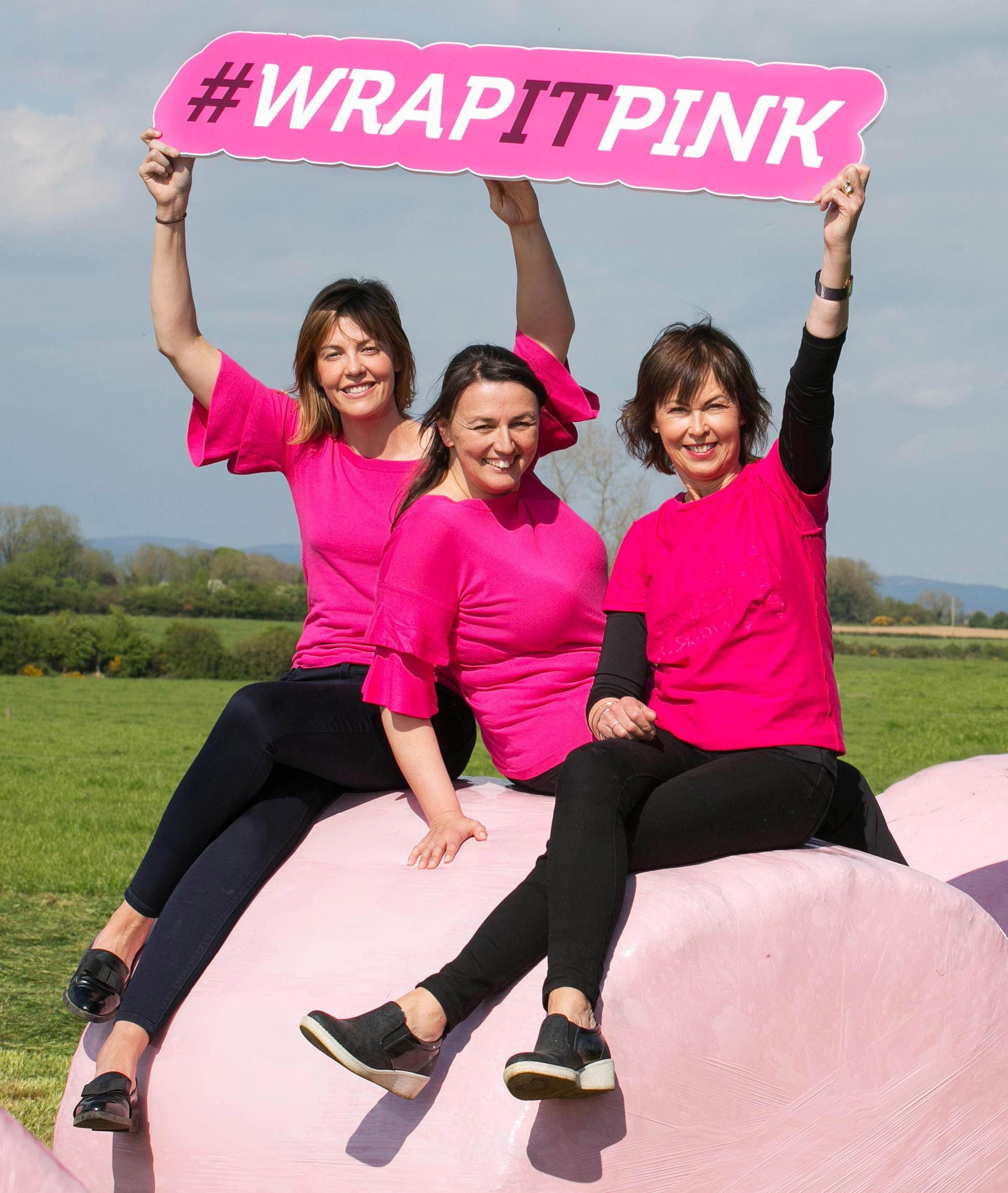 Wrap It Pink: Rural Ireland Turns Pink for Third Year Running!
