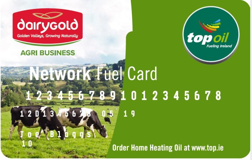 Fuel Card and farm/home delivery by TOP Oil
