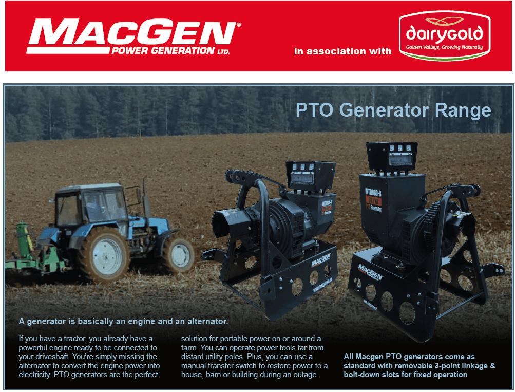 Dairygold Teams up with MacGen Power Generation