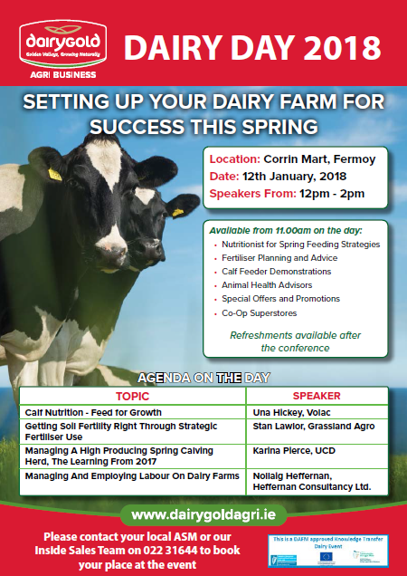 Dairygold Dairy Day 2018 | Corrin Mart, Fermoy, Co. Cork
