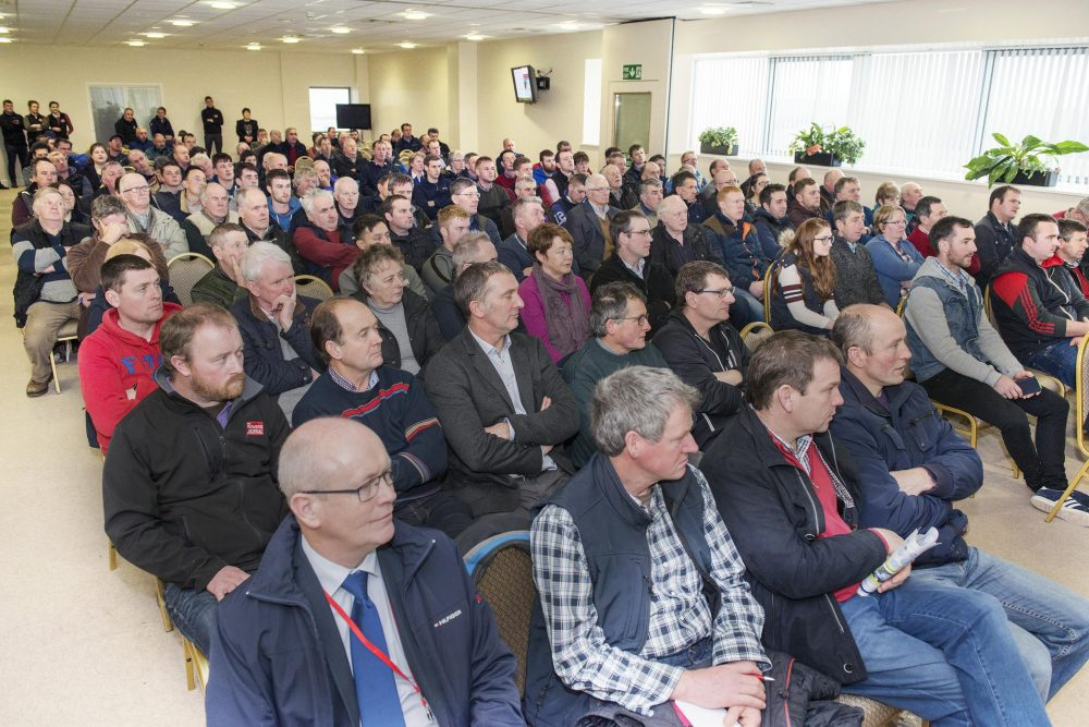 Large Attandance at Dairygold Dairy Day 2018 in Corrin Mart, Fermoy