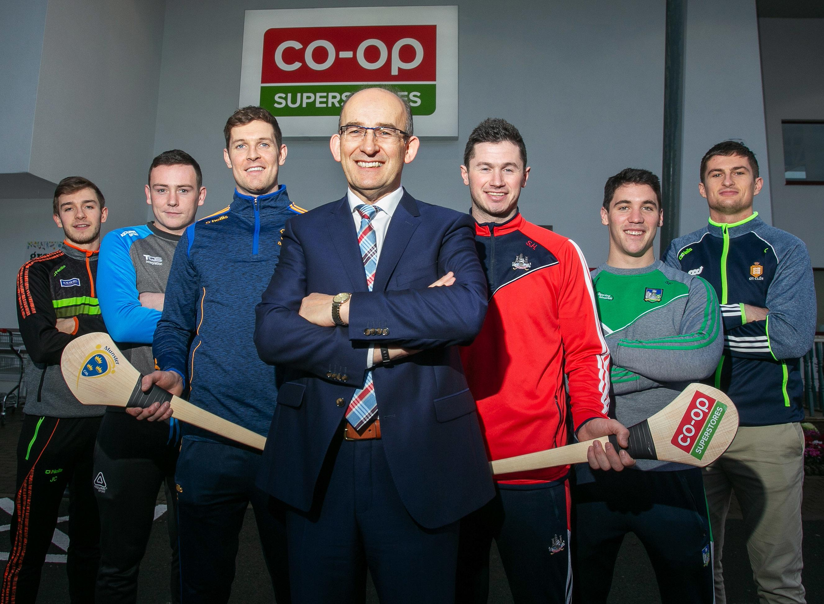 Co-Op Superstores teams up with Munster GAA as sponsor for a 3rd year